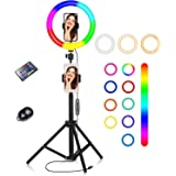10 Inch RGB Led Ring with Stand