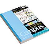 """1 X Kokuyo Campus Todai Series Pre-Dotted Notebook - Semi B5 (7"""" X 9.834) - 6 mm - 35 Lines X 30 Sheets - Pack of 5 Cover Col"""