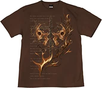 [GENJU] Tシャツ スカル ドクロ 十字架 メタル ロック 裏もデザイン有 メンズ キッズ