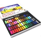 [Mungyo Gallery] Non Toxic Soft Pastels Set of 64 Assorted Colors, Smooth Blending Texture, Ideal For All Artist Levels and P