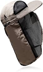 L.A.Y メッシュ 帽子(釣り 登山 トレッキング ジョギング )熱中症 UVカット 対策 アウトドア 2WAY キャップ