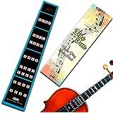 FineFun Violin Finger Guide /Fingerboard Sticker guide Label Finger Chart For Size 4/43/4 2/14/18/110/1 (4/4)