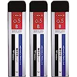 トンボ鉛筆 シャープペン芯 MONO モノグラフMG 0.5 B 3個 ECG-320