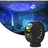 Star Projector, Galaxy Projector Night Light with 9 Lighting Modes, Remote Control, 4000mAh Battery Up to 6H Working Time, 30