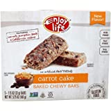 Enjoy Life Foods - Gluten Free Allergy Friendly Chewy Bars Carrot Cake - 5 Bars