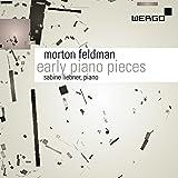 フェルドマン : 初期ピアノ作品集 (Morton Feldman : Early Piano Pieces / Sabine Lieber , piano) (2CD) [輸入盤]