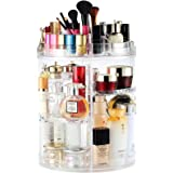 Makeup Organizer, Boxalls Rotating 360 Degree Crystal Adjustable Jewelry Cosmetic Perfumes Display Stand Box, 380 x 260 MM 8