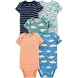 Carter's Baby Boys 5 Pack Cotton Original Bodysuits
