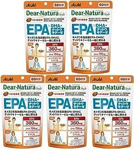 【まとめ買い】ディアナチュラスタイル EPAxDHA・ナットウキナーゼ (60日分) 240粒×5個