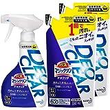 【まとめ買い】バスマジックリン DEOCLEAR(デオクリア) 風呂洗剤 擦らず落とす フレッシュシトラスの香り 本体…