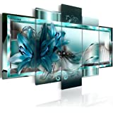Orchid Flowers Canvas Print Abstract Wall Art Painting Decor for Home Decoration Artwork Picture Bedroom White Floral (C, Ove