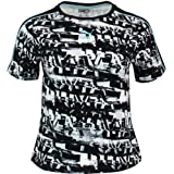 PUMA Womens Be Bold Tight Top Short Sleeve Shirt