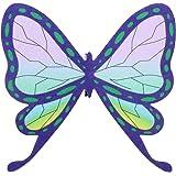 DERAYEE 髪飾り コスプレ ヘア飾り 蝶の形 かわいい(紫)
