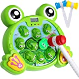 Yuham Whack A Frog Pounding Game, Developmental Toys For 2, 3 4 5 6 7 8 Year Old Boys And Girls, Helps Fine Motor Skills