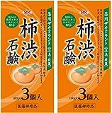 SOC 薬用柿渋石鹸 3P (100g×3) 2セット