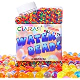 Crystal Gel Water Beads CiaraQ Pack (50000 beads) Rainbow Mix Jelly Water Growing Balls, Kids Sensory Toys , Vases, Plant, We