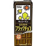 キッコーマン 豆乳飲料 ブラックチョコ 200ml ×18本