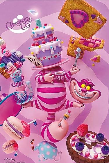 ディズニー  iPhone/Androidスマホ壁紙(640×960)-5 - ふしぎの国のアリス チェシャ猫のパーティ