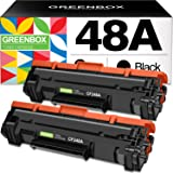GREENBOX Compatible Toner Cartridge Replacement for HP CF248A 48A for HP Laserjet Pro M15w M15a M16a M16w HP Laserjet MFP M28