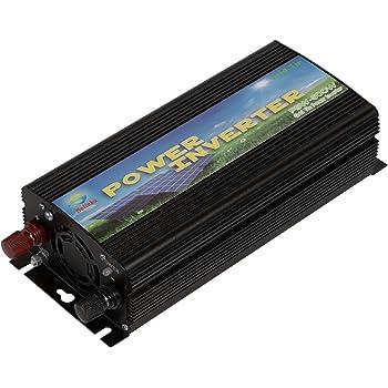 Solinba 500w オングリッドタイソーラー純粋正弦波インバーター DC22-56v からAC90-130v ソーラーシステム用 アメリカ版プラグ 周波数60Hz/50Hz オートマティック