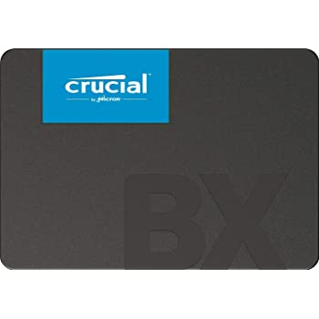 【Amazon.co.jp 限定】Crucial SSD 120GB BX500 内蔵2.5インチ 7mm (FFPパッケージ) CT120BX500SSD1Z