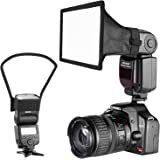 Neewer Camera Speedlite Flash Softbox and Reflector Diffuser Kit for Canon Nikon and Other DSLR Cameras Flashes, Neewer TT560