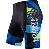 Men's Padded Cycling Underwear Gel Bicycle Underpants Lightweight Bike Shorts
