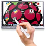 Longruner 5 Inch Touch Screen 800x480 TFT LCD Display for Raspberry Pi 3 2 Model B RPi 1 B B+ A A+ LSC5A white 5 inch screen