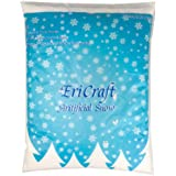 EriCraft Artificial Snow,8 Litres, 270ml, Plastic Snow for Decoration and Handcraft