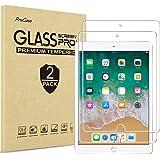 ProCase iPad 9.7 Screen Protector 2018/2017, Tempered Glass Screen Film for iPad 9.7 Inch 2018 2017,iPad Pro 9.7, iPad Air 2