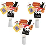 Friends TV Show Centerpieces Sticks Friends Birthday Table Toppers Friends Theme Cutouts for Friends TV Show Themed Birthday