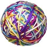 Pet Craft Supply Yowlin' Yarn - Multi Color Yarn Balls with Rattle Cat Toys