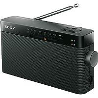 ソニー ハンディーポータブルラジオ ICF-306 : FM/AM/ワイドFM対応 ブラック ICF-306 B
