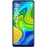 Xiaomi Redmi Note 9 Dual SIM 64GB + 3GB RAM Factory Unlocked 4G Smartphone (Midnight Grey) - International Version