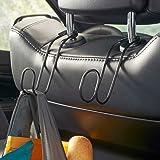 High Road Contour CarHooks Car Headrest Hangers - 2 pack