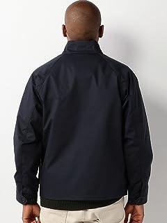 Bonded Cotton Blouson 1125-133-6124: Navy