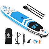 """Goosehill Inflatable Stand Up Paddle Board, Premium SUP Package, 10' Long 32"""" Wide 6"""" Thick, Patterns Open for Customization…"""