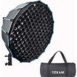 Sokani 深い八角形 60cm ソフトボックス Godox SL-60W VL150 Sokani x60 Aputure 120D Mark 2 300D 300X 120D 対応 およびその他のBowen-Sマウントライト写真撮影 用