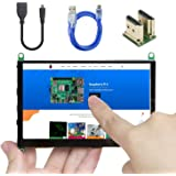 UCTRONICS 5 Inch Touch Screen for Raspberry Pi 4, 800×480 Portable Capacitive HDMI LCD Touchscreen Display Monitor for Pi 4 B
