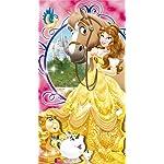 ディズニー iPhoneSE/5s/5c/5 壁紙 視差効果 美女と野獣 ベル
