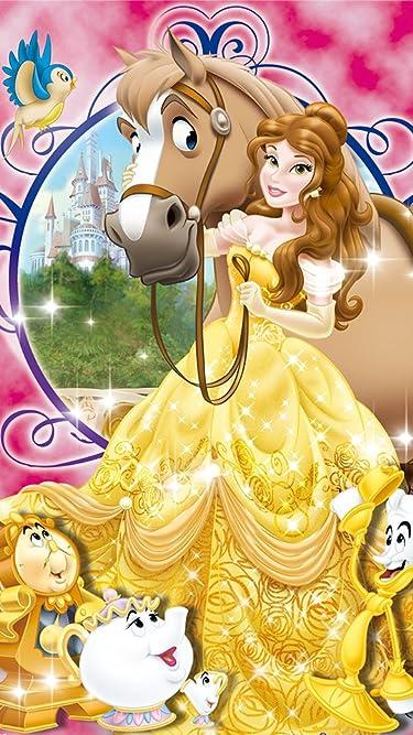 ディズニー  iPhone/Androidスマホ壁紙(540×960)-1 - 美女と野獣 ベル