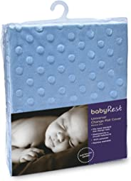 Babyrest Universal Change Mat Cover Minkie Dot, Blue