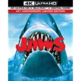 Jaws (4K Ultra Hd/Blu-Ray/Digital 45Th Anniversary Limited Edition)