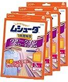 【まとめ買い】ムシューダ 1年間有効 防虫剤 ウォークインクローゼット専用 3個入×4個