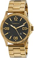 CARAVELLE Men's 44B120 Analog Quartz Gold Watch