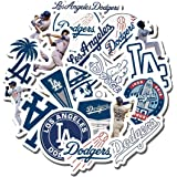 Proflex Packaging System - 20 PCS Los Angeles Dodgers Aesthetic Vinyl Waterproof Stickers Pack for Water Bottle Laptop Luggag