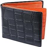 [Legare(レガーレ)] 二つ折り財布 カード15枚収納 BOX型小銭入れ レザー メンズ