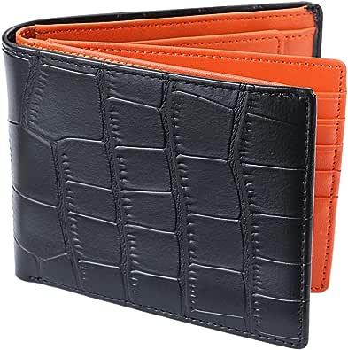 [Legare] 財布 二つ折り レザー 革財布 メンズ カード たくさん入る 2つ折り財布 10色