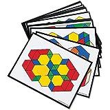 Learning Resources LER0264 Pattern Block Design Cards