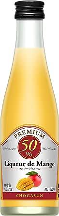 無着色・天然マンゴー果汁50% チョーガ リキュール デ マンゴー [ 300ml ]